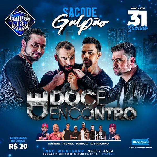 Doce Encontro - 31/08/19 - Itapevi - SP