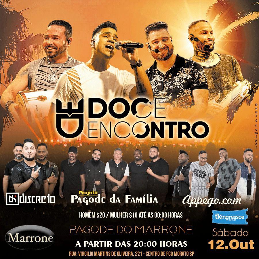Doce Encontro - Marrone - 12/10/19 - Francisco Morato - SP