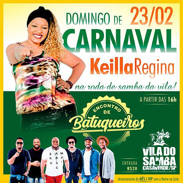 Domingo de Carnaval - Vila do Samba - 23/02/20 - São Paulo - SP