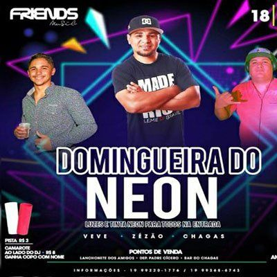 Domingueira do Neon - Friends Music - 18/03/18 - Leme - SP