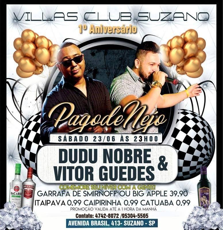 Dudu Nobre - Villas Club - 23/06/18 - Suzano - SP