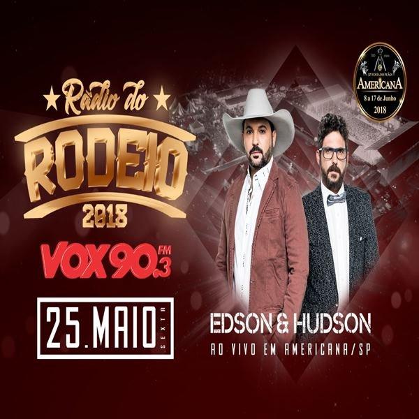 Edson & Hudson - 25/05/18 - Americana - SP