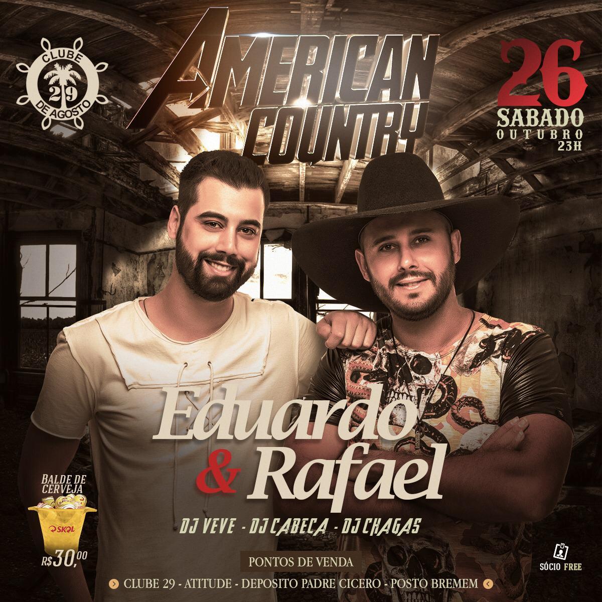 Eduardo & Rafael - 26/10/19 - Leme - SP