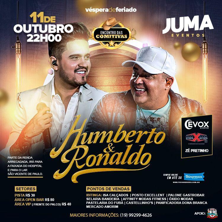 Encontro das Comitivas - Humberto & Ronaldo - 11/10/19 - Ibitinga - SP