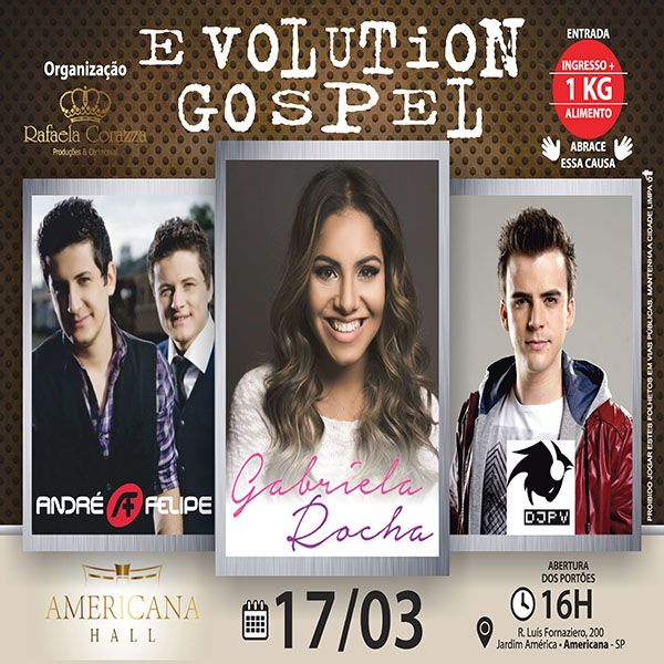 Evolution Gospel - 17/03/18 - Americana - SP