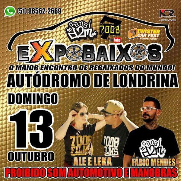 ExpoBaixos - 13/10/19 - Londrina - PR