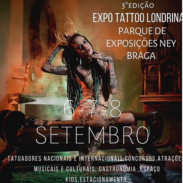ExpoTattoo - 6ªFeira - 06/09/19 - Londrina - PR