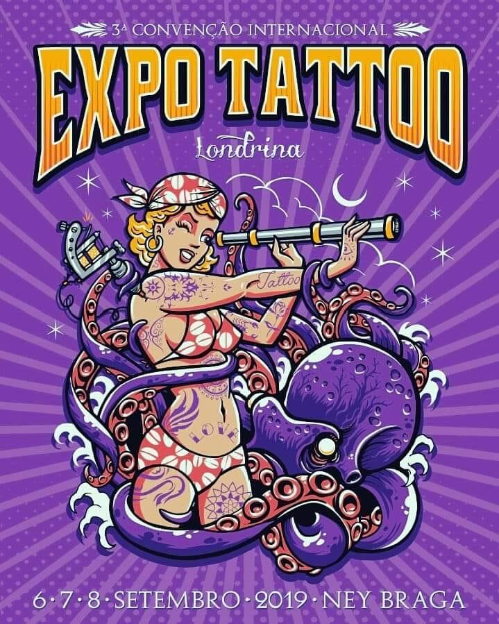ExpoTattoo - Sábado - 07/09/19 - Londrina - PR