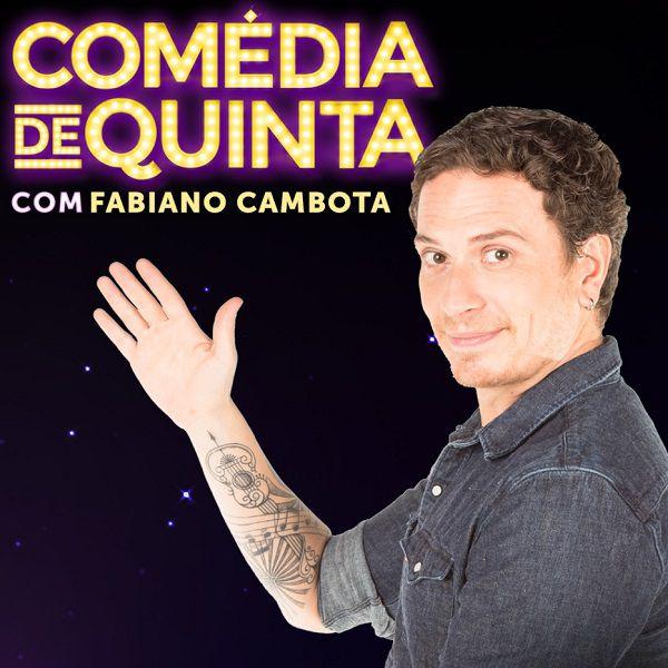 Fabiano Cambota - Comédia de Quinta - 17/10/19 - Londrina - PR