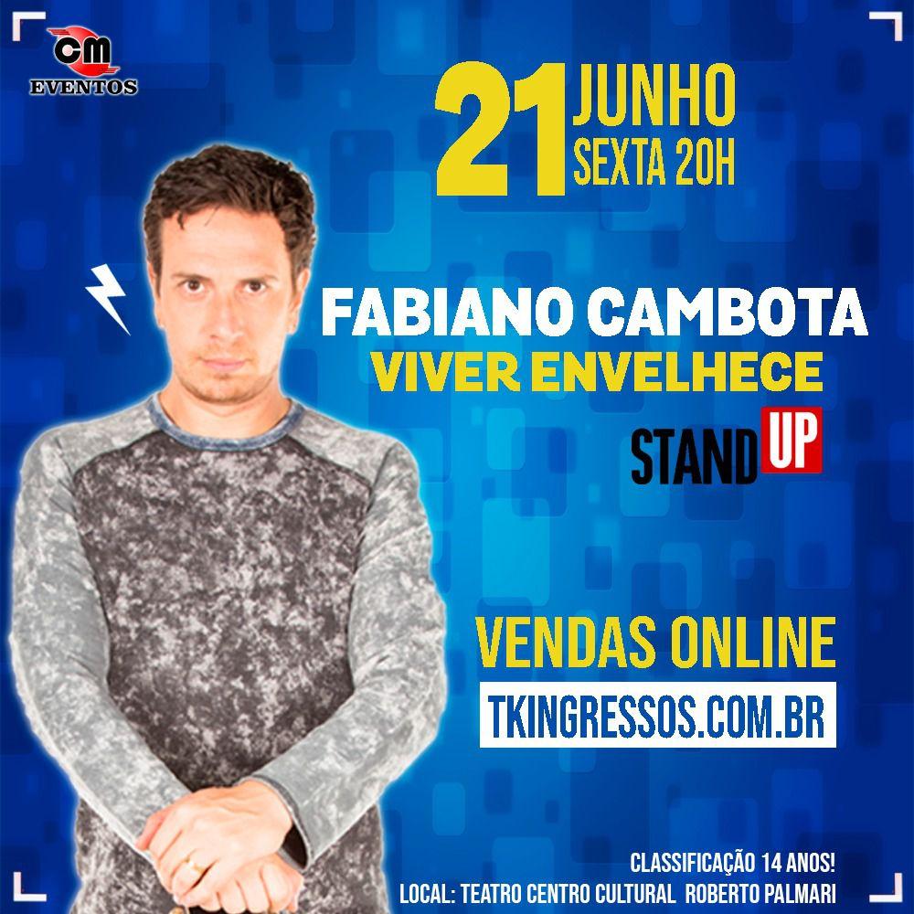 Fabiano Cambota Viver Envelhece - 21/06/19 - Rio Claro - SP