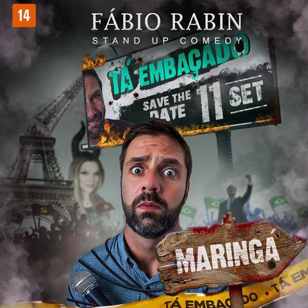 Fábio Rabin - 11/09/19 - Maringá - PR