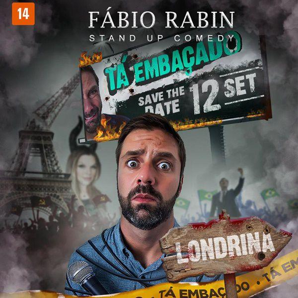 Fábio Rabin - 12/09/19 - Londrina - PR