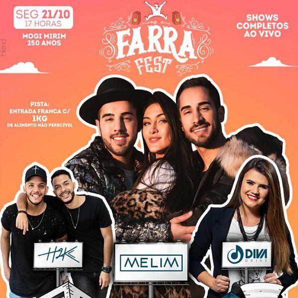 Farra Fest - 2ª Feira - 21/10/19 - Mogi Mirim - SP