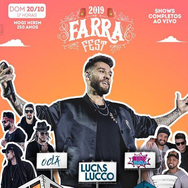 Farra Fest - Domingo - 20/10/19 - Mogi Mirim - SP