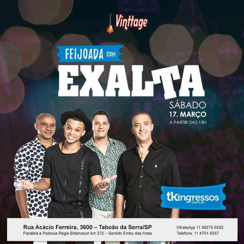 Feijoada com Exalta - 17/03/18 - Taboão da Serra - SP