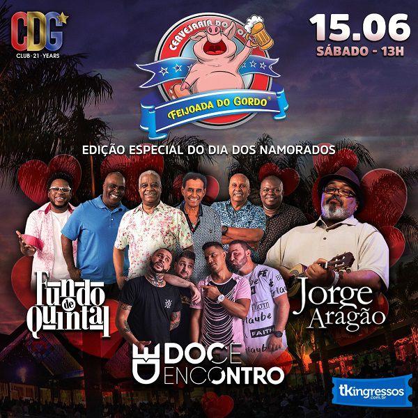 Feijoada Dia dos Namorados - Cervejaria do Gordo - 15/06/19 - Lorena - SP