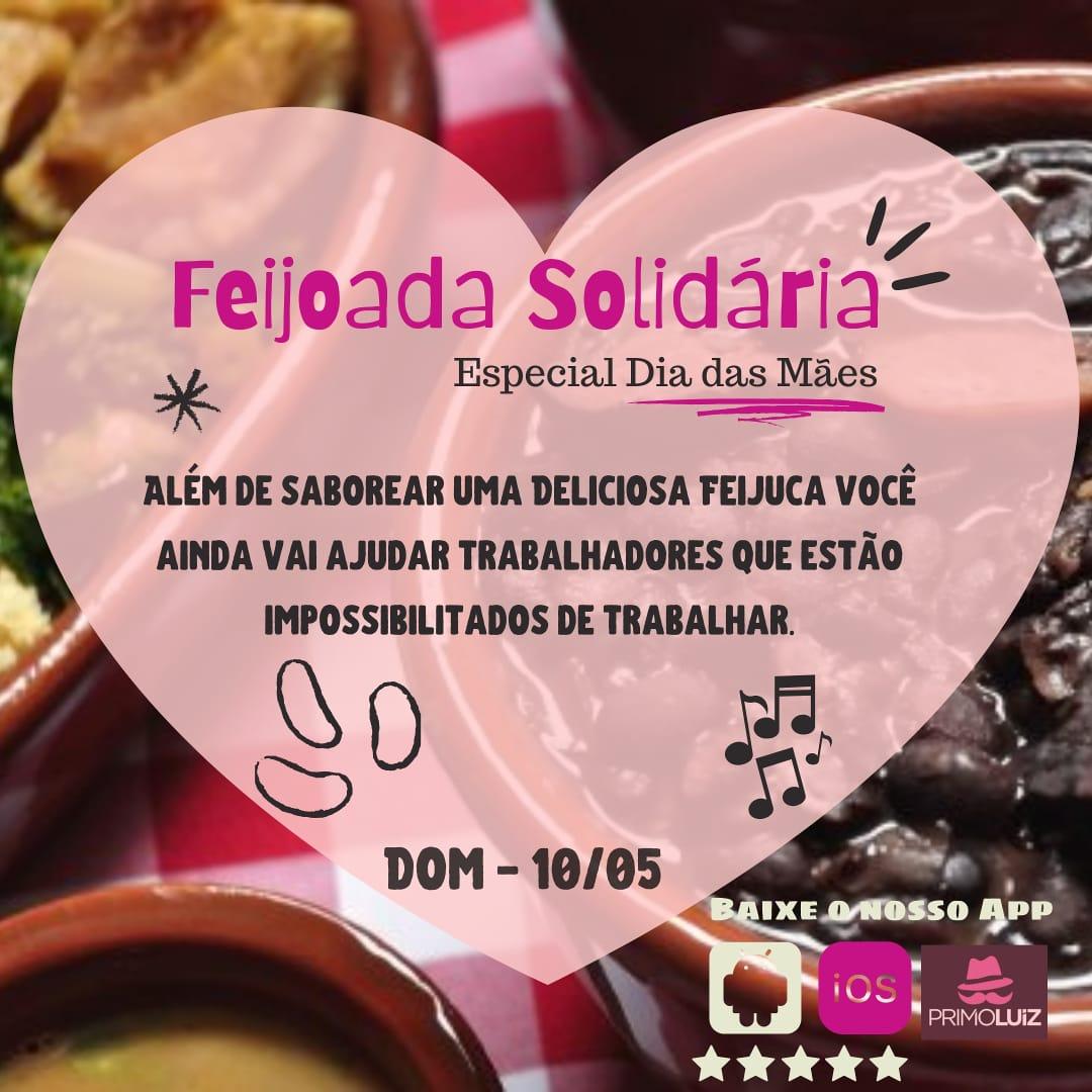 Feijoada Especial Dia das Mães - 10/05/20 - Piracicaba - SP