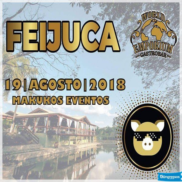 Feijuca World Emporium - 19/08/18 - Mogi Guaçu - SP