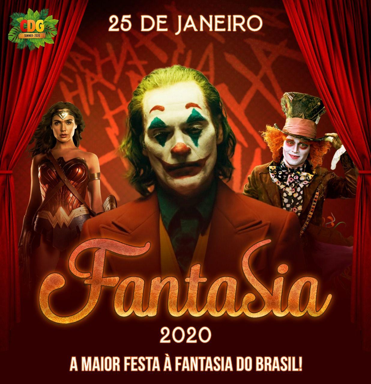 Festa A Fantasia - Cervejaria do Gordo - 25/01/20 - Lorena - SP