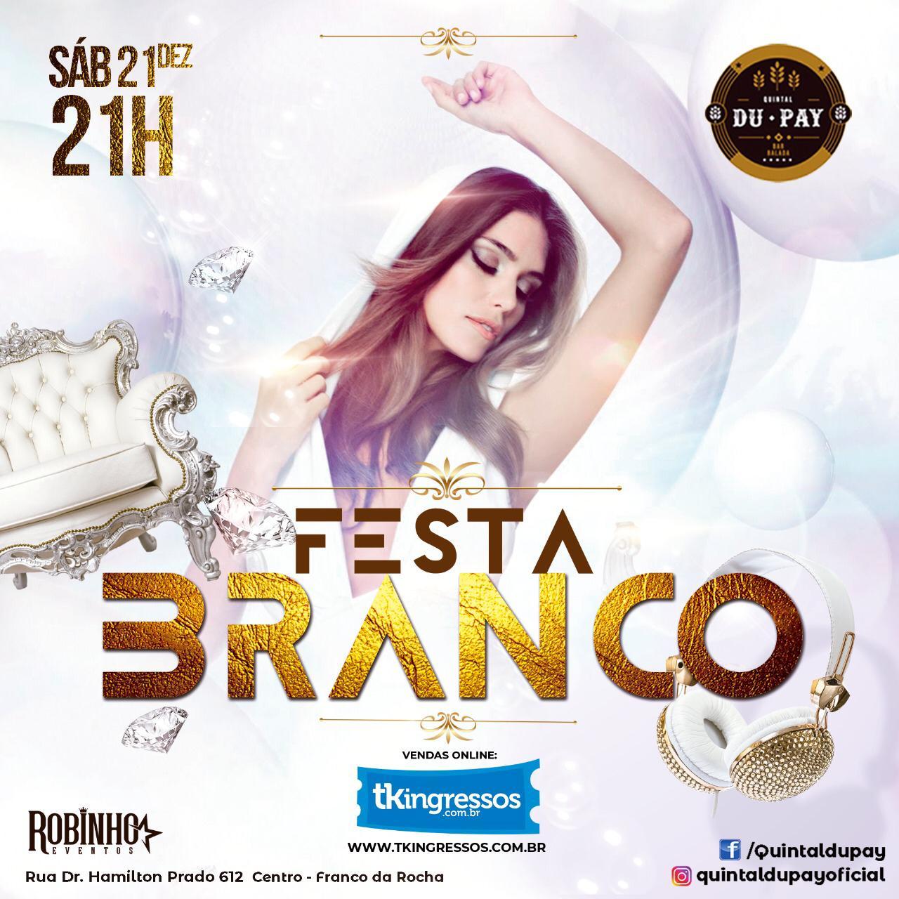 Festa do Branco - 21/12/19 - Franco da Rocha - SP