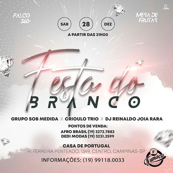 Festa do Branco - 28/12/19 - Campinas - SP