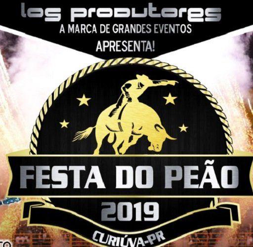Festa do Peão - 6ª Feira - 09/08/19 - Curiúva - PR