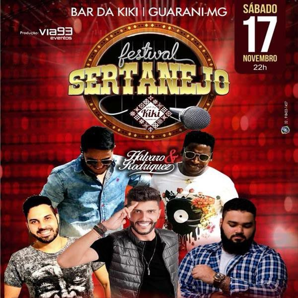 Festival Sertanejo - Bar da Kiki - 17/11/18 - Guarani - MG