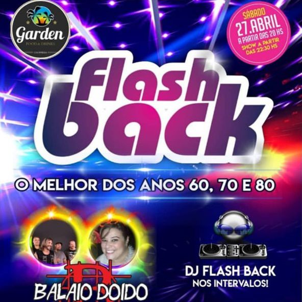 Flash Back - 27/04/19 - Pedreira - SP