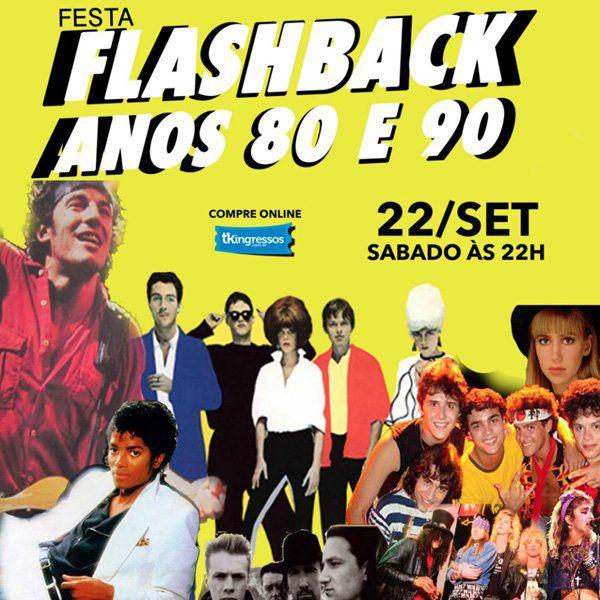 FlashBack Anos 80 e 90 - Vacaloca Multshow - 22/09/18 - Mogi das Cruzes - SP