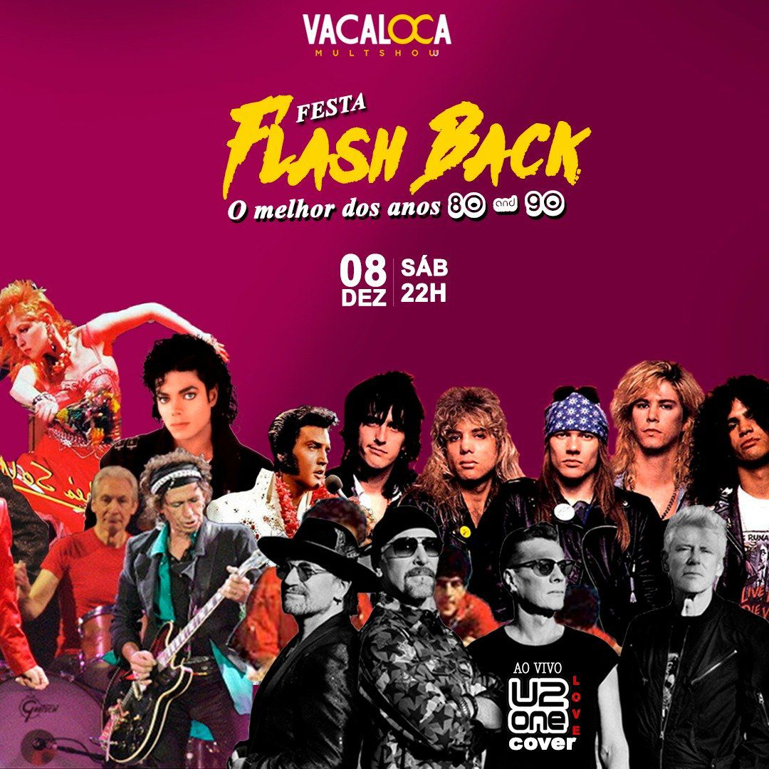 FlashBack U2 Cover - 08/12/18 - Mogi das Cruzes - SP