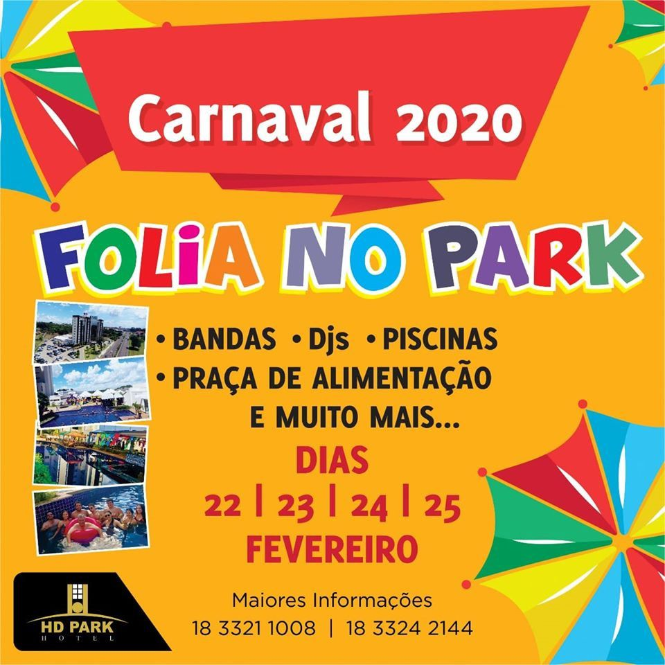 Folia no Park - Domingo - 23/02/20 - Assis - SP