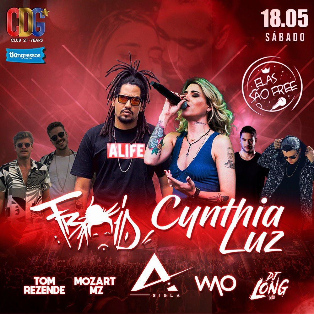 Froid & Cynthia Luz - Cervejaria do Gordo - 18/05/19 - Lorena - SP