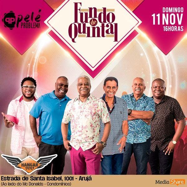 Fundo de Quintal - 11/11/18 - Arujá - SP