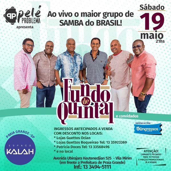 Fundo de Quintal - 19/05/18 - Praia Grande - SP