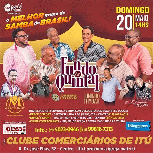 Fundo de Quintal - 20/05/18 - Itu - SP