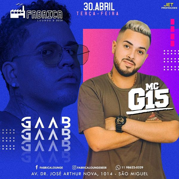 Gaab - 30/04/19 - São Paulo - SP
