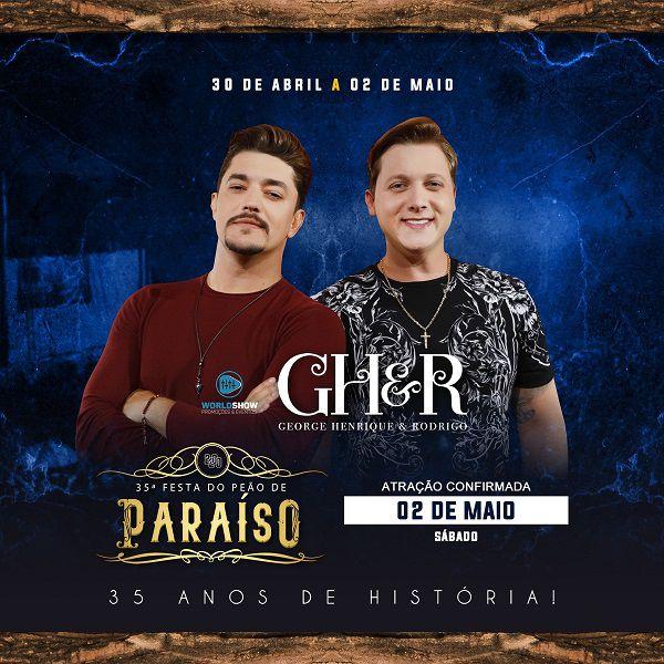 George Henrique & Rodrigo - 02/05/20 - Paraíso - SP