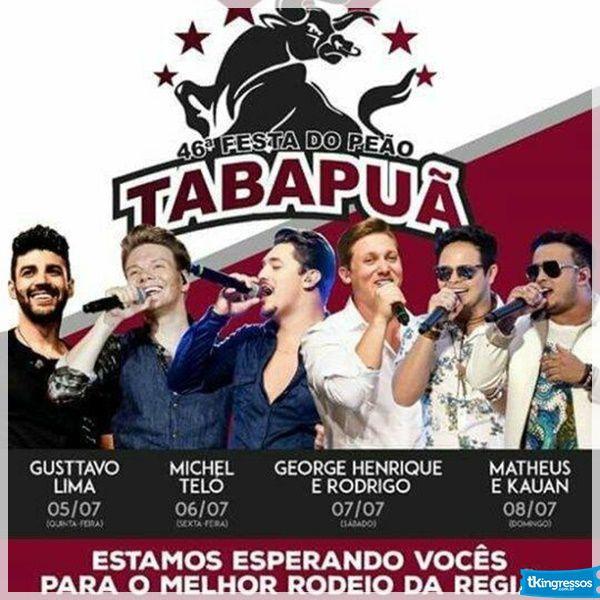 George Henrique & Rodrigo - 07/07/18 - Tabapuã - SP