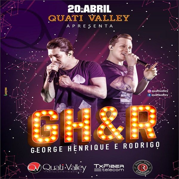 George Henrique & Rodrigo - 20/04/19 - Fartura - SP