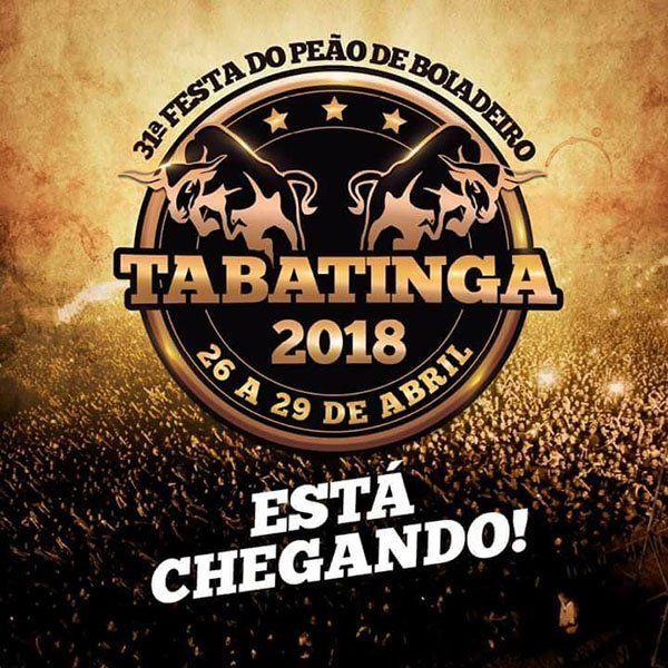 George Henrique & Rodrigo - 28/04/18 - Tabatinga - SP