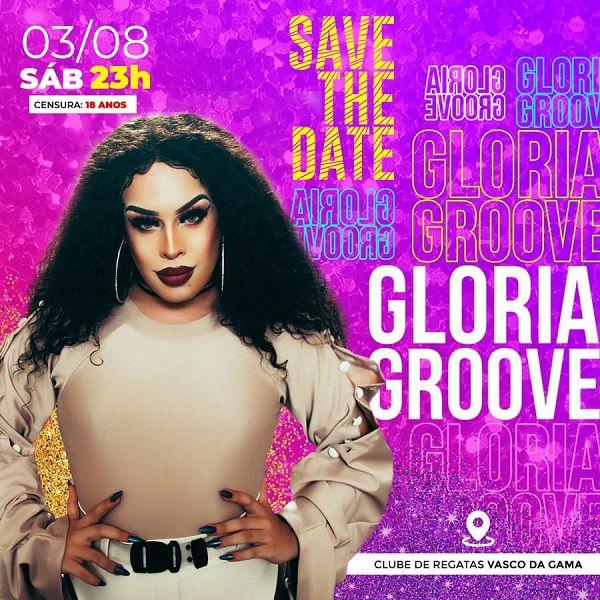 Gloria Groove - MegaC - 03/08/19 - Santos - SP