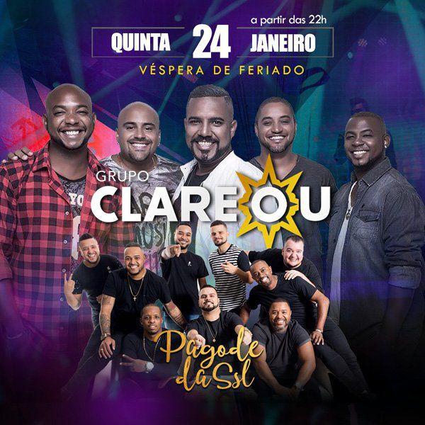 Grupo Clareou - 24/01/19 - São Paulo - SP