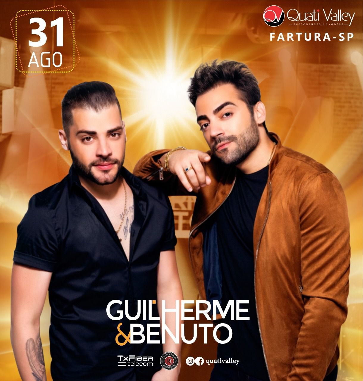 Guilherme & Benuto - 31/08/19 - Fartura - SP