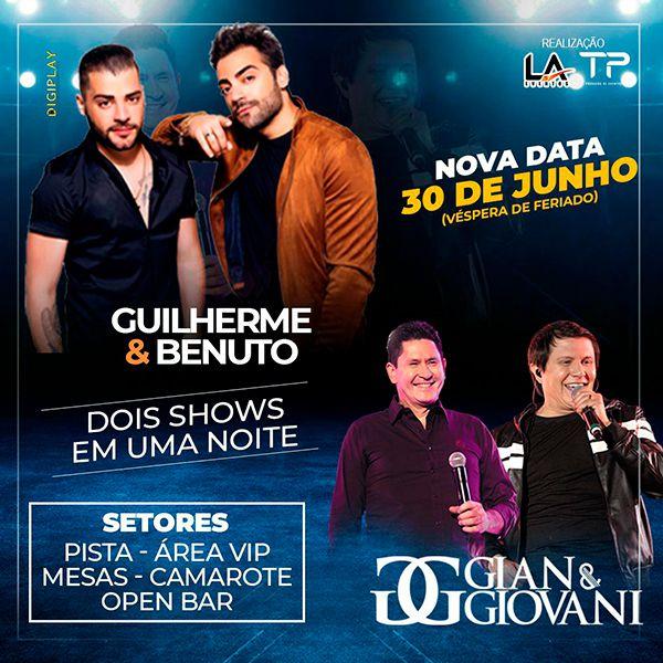 Guilherme & Benuto e Gian & Giovani - 30/06/20 - Assis - SP