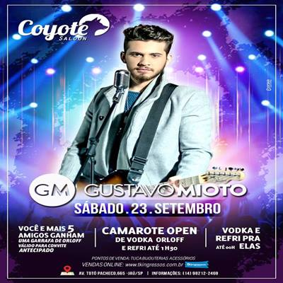 Gustavo Mioto - 23/09/17 - Jaú - SP