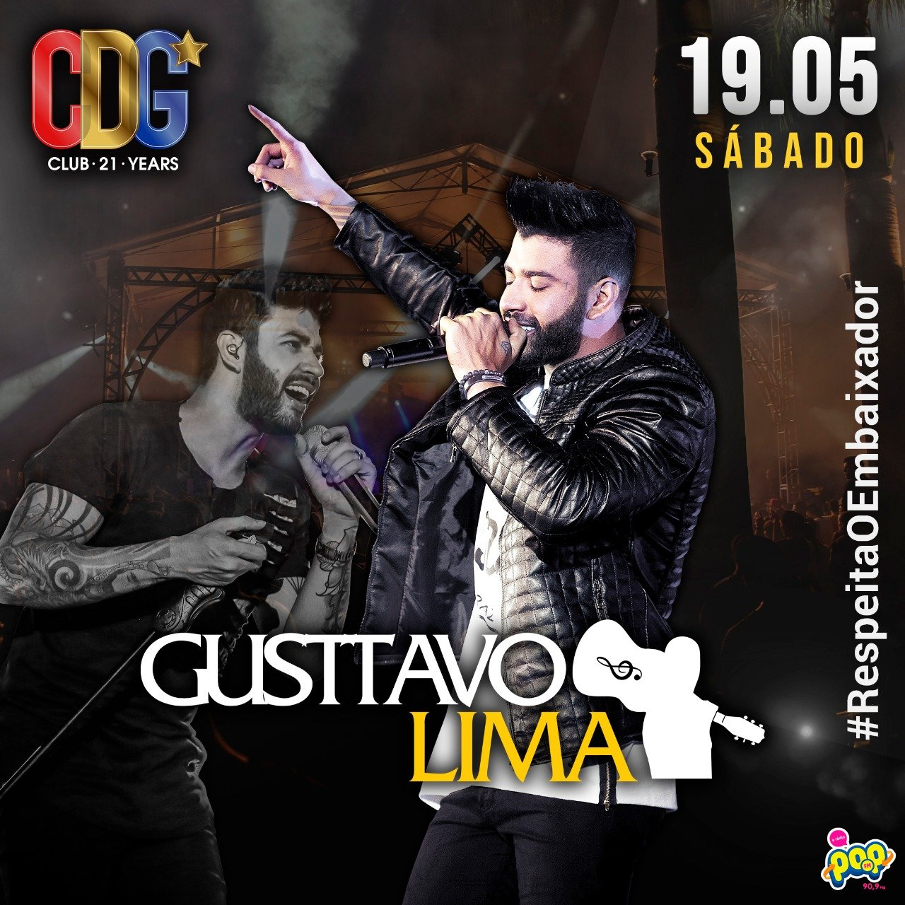 Gusttavo Lima - Cervejaria do Gordo - 19/05/18 - Lorena - SP