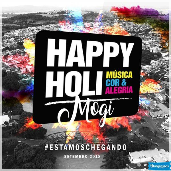 Happy Holi - 15/09/18 - Mogi Mirim - SP
