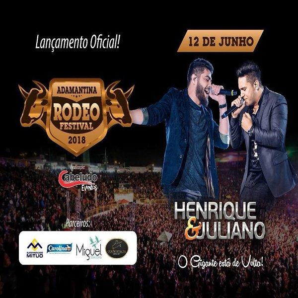 Henrique & Juliano - 12/06/18 - Adamantina - SP