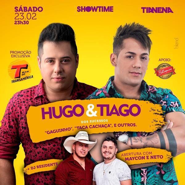 Hugo & Tiago - Tia Nena - 23/02/19 - Mogi Guaçu - SP