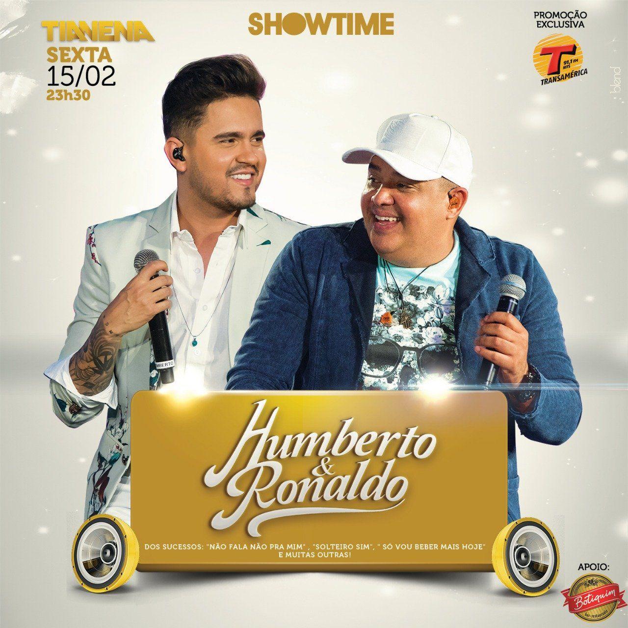 Humberto & Ronaldo - TiaNena - 15/02/19 - Mogi Guaçu - SP